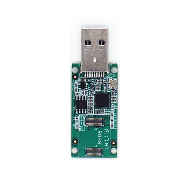 Taidacent RK3399 RADXA Rock Pi 4 accesorios de desarrollo puede ser un controlador USB de alta velocidad USB 3,1 eMMC lector de tarjetas inteligentes