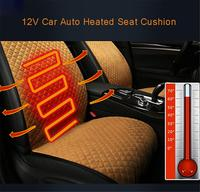 12V Car Auto Heated Seat Covers High Quality Soft Plush Universal Car Heated Heating Heater Seat Pads Winter Warmer Seat Covers