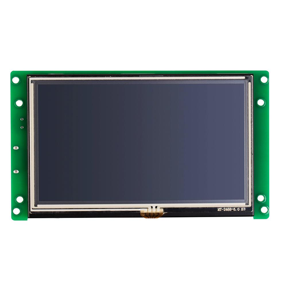 5 Inch Touch Screen Panel for Industrial Use Work with any Microcontroller/MCU - 2