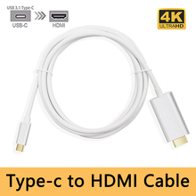 USB 3 1 Type C To HDMI Adapter Male To Male Converter for MacBook2016 Huawei Matebook
