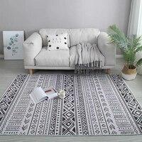 Marocco stile INS popolare geometrica stampato tappeto  Nordic grande formato salotto tavolino mat  tutti i match della decorazione del pavimento stuoia-in Tappeto da Casa e giardino su