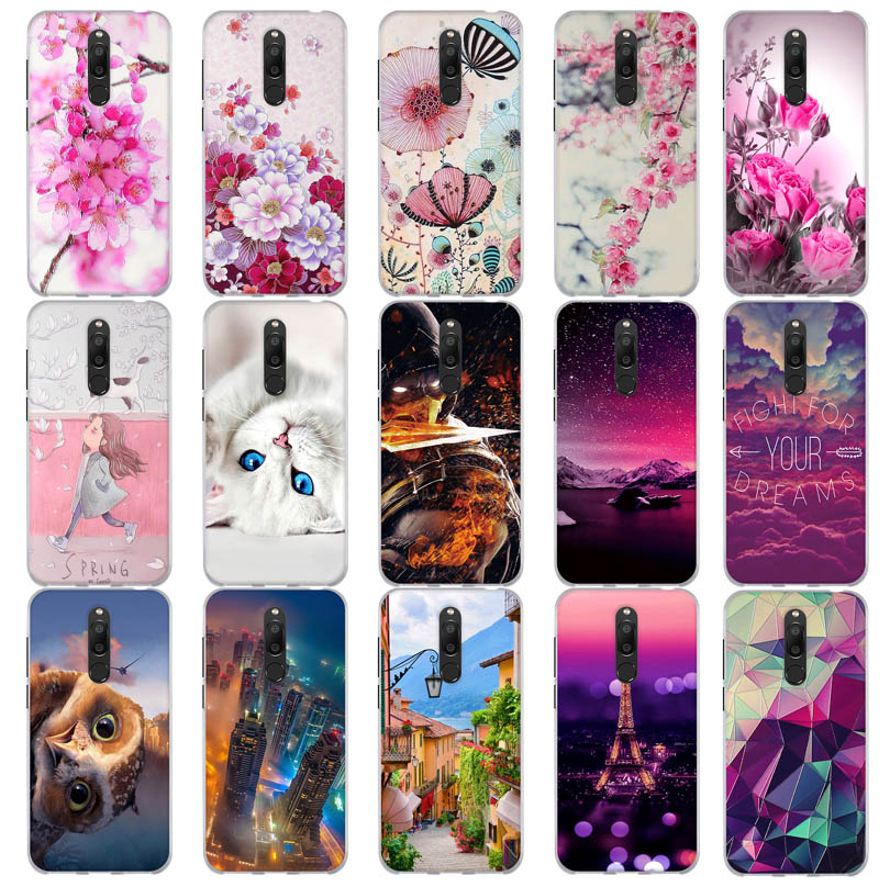 for <font><b>Meizu</b></font> <font><b>M6T</b></font>/ Meiblue 6T Meilan 6T Cover 3D Animal Pattern or <font><b>Meizu</b></font> 15 Lite / M15 Capa <font><b>TPU</b></font> Silicone 3D Fundas Bags Soft <font><b>Case</b></font> image