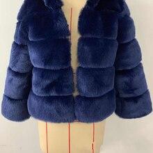 Дешевые зимняя верхняя одежда Шубы из искусственного лисьего