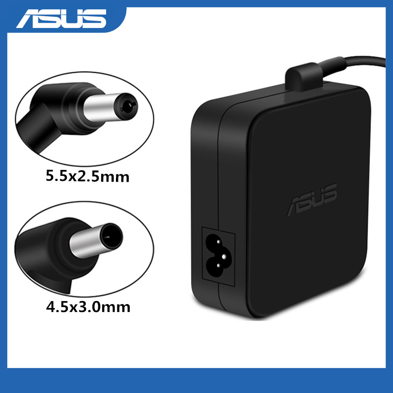 19V 3.42A 65W 5.5x2.5mm / 4.5x3.0mm AC Adapter Power Charger without Power Cord Replacement For Asus Laptop adapter Power Supply