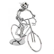 Accesorios de decoración para el hogar miniaturas Vintage bicicleta Rider modelo Metal bicicleta hogar escritorio decoración adornos para el hogar