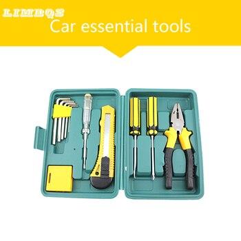 цена на Car universal maintenance kit repair panel remover hand tool set general household repair hand tool kit 7 pieces set