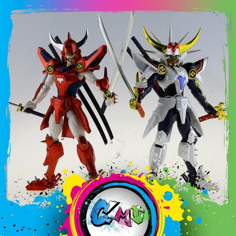 CMT In Stock DATONG Assembly Model Ronin Warriors Yoroiden Samurai Trooper Flame Of God Ryo Anime Action Figure