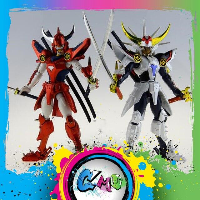 Figuras de acción de DATONG, modelo de ensamblaje de guerreros de Ronin, Yoroiden, Samurai Trooper, Flame of God, Ryo