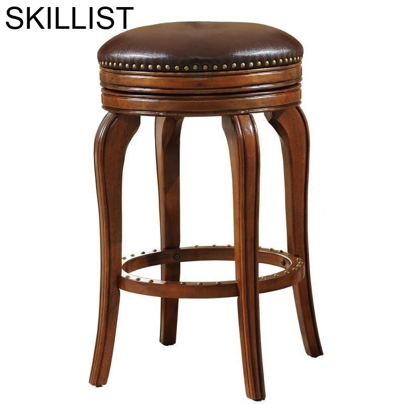 Ikayaa Sandalyesi Silla Para Sandalyeler Table Taburete La Barra Leather Stool Modern Cadeira Tabouret De Moderne Bar Chair