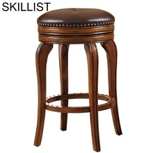 Ikayaa Sandalyesi Silla Para Sandalyeler Table Taburete La Barra Leather Stool Modern Cadeira Tabouret De Moderne Bar Chair