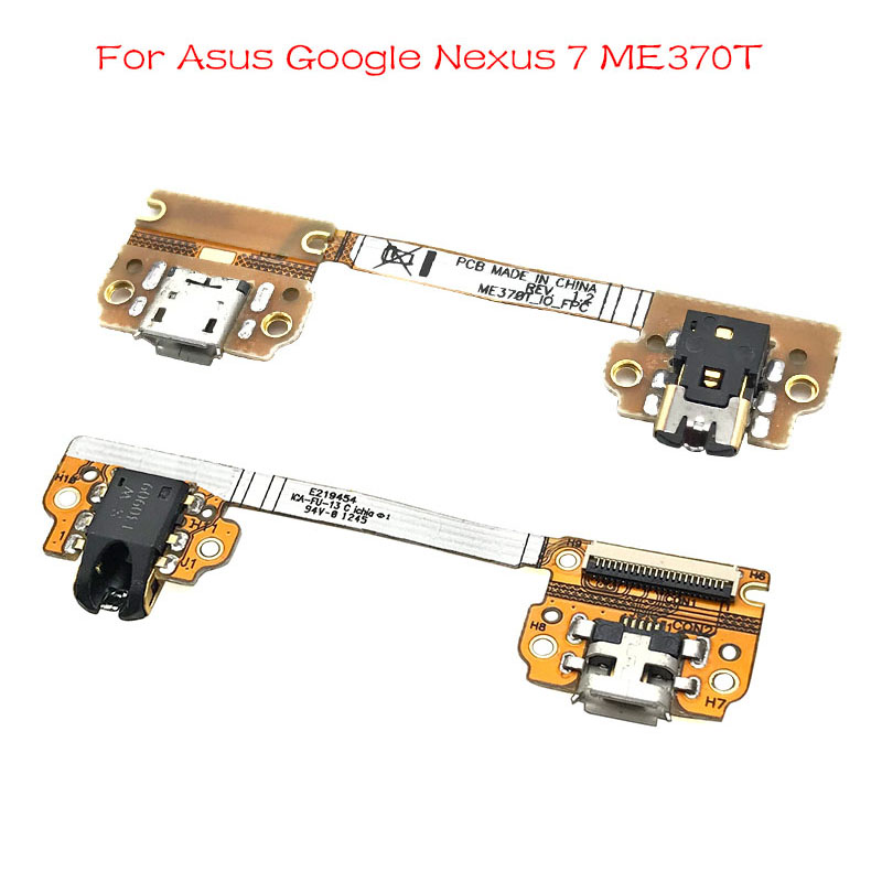 New For Asus Google Nexus 7 ME370T USB Charging Dock Port Charger Connector Board Flex Ribbon With Autio Jack
