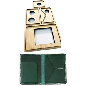 Image 1 - Japonia ostrze ze stali drewno umiera dla majsterkowiczów skóra craft okładka na paszport die cutting forma do wycinania szablon wytłaczany ręcznie narzędzie 210x140mm