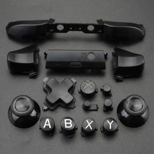 Image 5 - YuXi For Xbox One S Replacement Full Chrome Buttons Kit ABXY Trigger analog stick Parts for Xbox One Slim