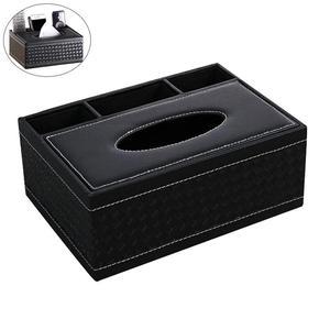 Image 5 - Многофункциональный настольный органайзер, держатель для пульта дистанционного управления, контейнер для карандашей, коробка для хранения салфеток из искусственной кожи