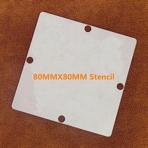 Image 2 - ישיר חימום 80*80 90*90 X950118 X950118 002 X950118 003 DG5700GDA87IE DG5700GDA871E 0.5MM BGA סטנסיל תבנית