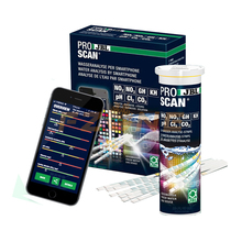 Water-Test-Kit Aquarium PH JBL with Evaluation Via App for Cl2/co2 Proscan Analysis