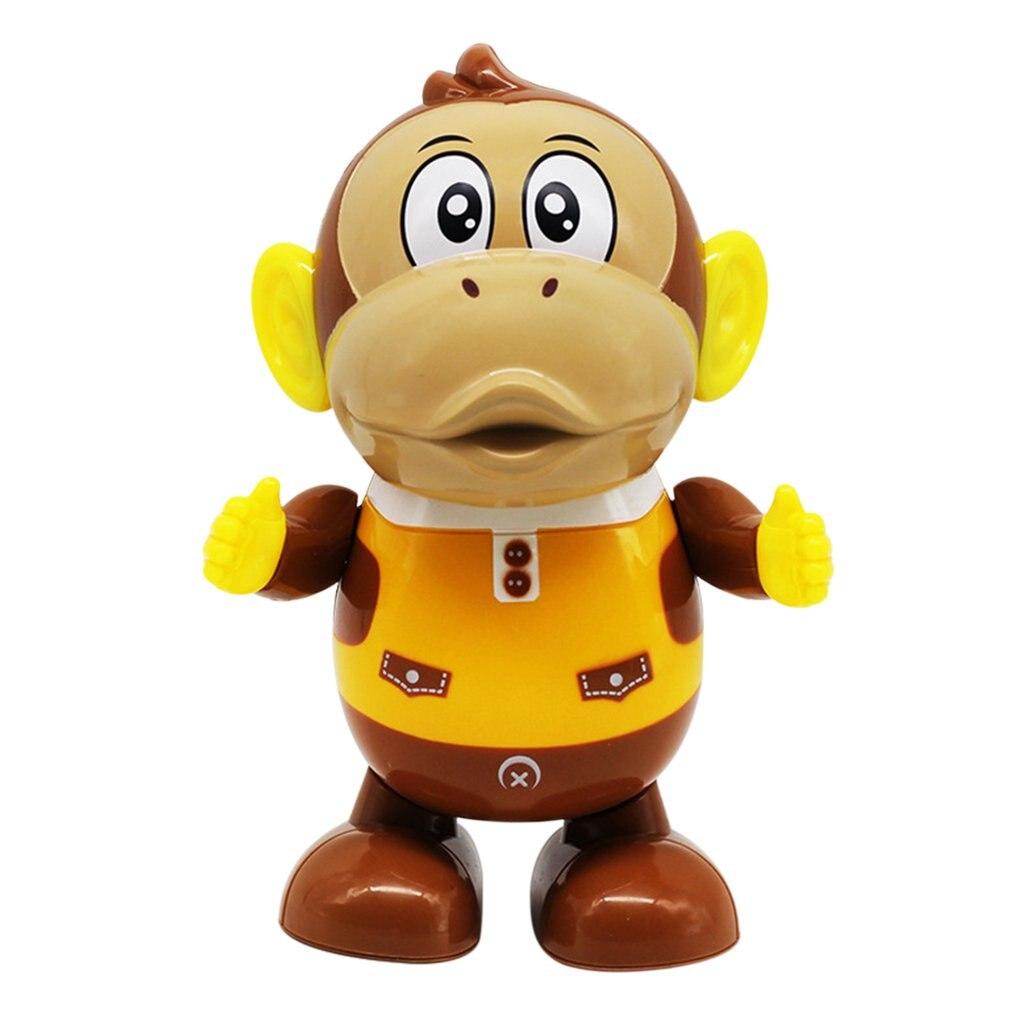 Electric Singing Dancing Monkey/Music Lighting Brown Bear Children's Toys Music Electric Robot Luminous Cute Kids Christmas Gift