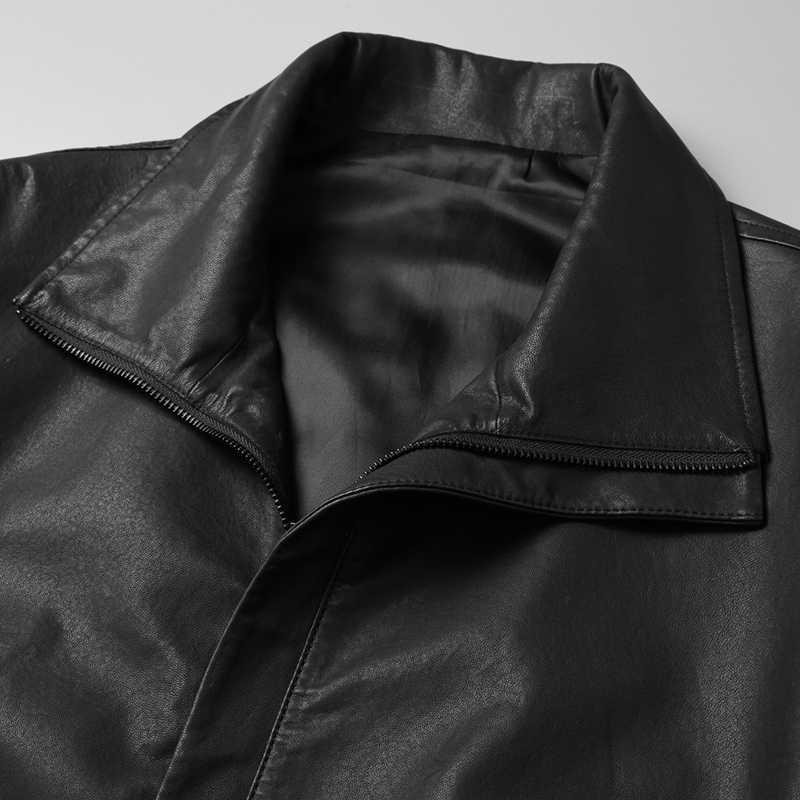 Пальто, шерстяное кожаное пальто, Мужское пальто и пальто на осень и зиму, pda22ac