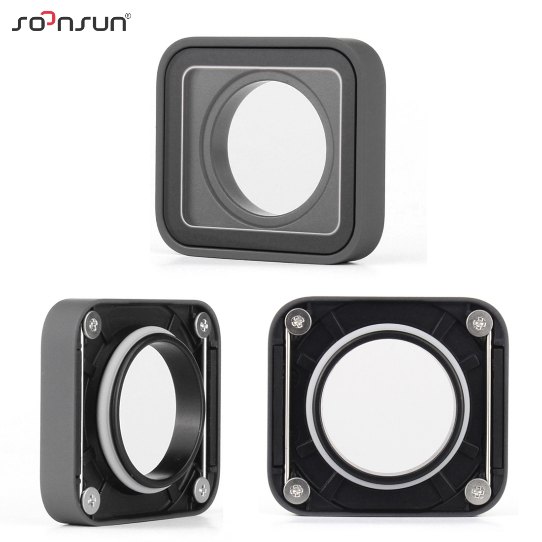 Image 3 - SOONSUN Protective Lens Replacement Side Door Repair Parts USB C Mini HDMI Port Side Cover for GoPro HERO 7 6 5 Black CameraSports Camcorder Cases   -