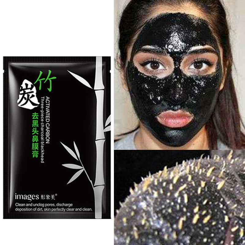 Comedondrukker Gezichtsmasker Neus Reparatie Diep Schoon Huidverzorging Schil Maskers Zuiverende Houtskool Black Mud Facial Schoonheid Porie Cleaner