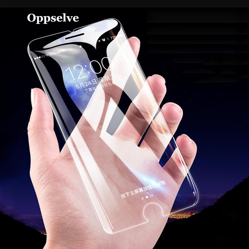 Protective Tempered Glass For IPhone 6 7 6s 8 Plus XS Max XR Glass For IPhone X 11 Pro Max Screen Protector Glass On IPhone 7 8