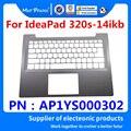 Новый оригинальный ноутбук  подставка для хранения  верхняя крышка для планшета  серебристый корпус для lenovo ideapad 320S-14 320S-14isk 320S-14ikB AP1YS000302