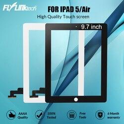 """Flylinktech dla Apple iPad 5 A1474 A1475 A1476 ekran dotykowy iPad A1822 A1823 powietrza 9.7 """"wyświetlacz szkło Digitizer zgromadzenie w Ekrany LCD i panele do tabletów od Komputer i biuro na"""
