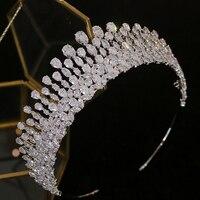 New bride tiara crystal headdress