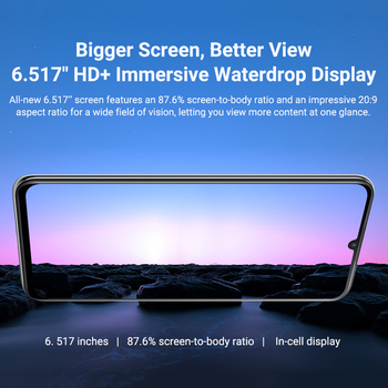 Blackview A70 Smartphone 3GB+32GB Octa Core Android 11 Cellphone 13MP Rear Camera 6.517'' Waterdrop 5380mAh 4G LTE Mobile Phone 3