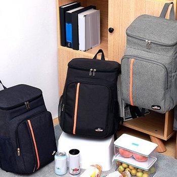 18L duża pojemność na zewnątrz wodoodporny Lunch piknik izolacja konserwacja plecak woda szczelna torba izolacyjna do przechowywania tanie i dobre opinie CN (pochodzenie) Torby do przechowywania Ekologiczne Trójwymiarowe Jedzenie Insulation Preservation Backpack 18 L Oxford cloth