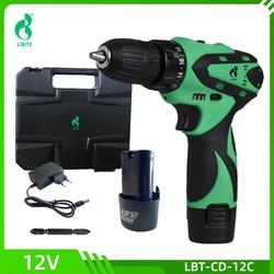 12V 20V Cordless Lithium Battery Hand Drill DIY Tool Mini Wireless Screwdriver