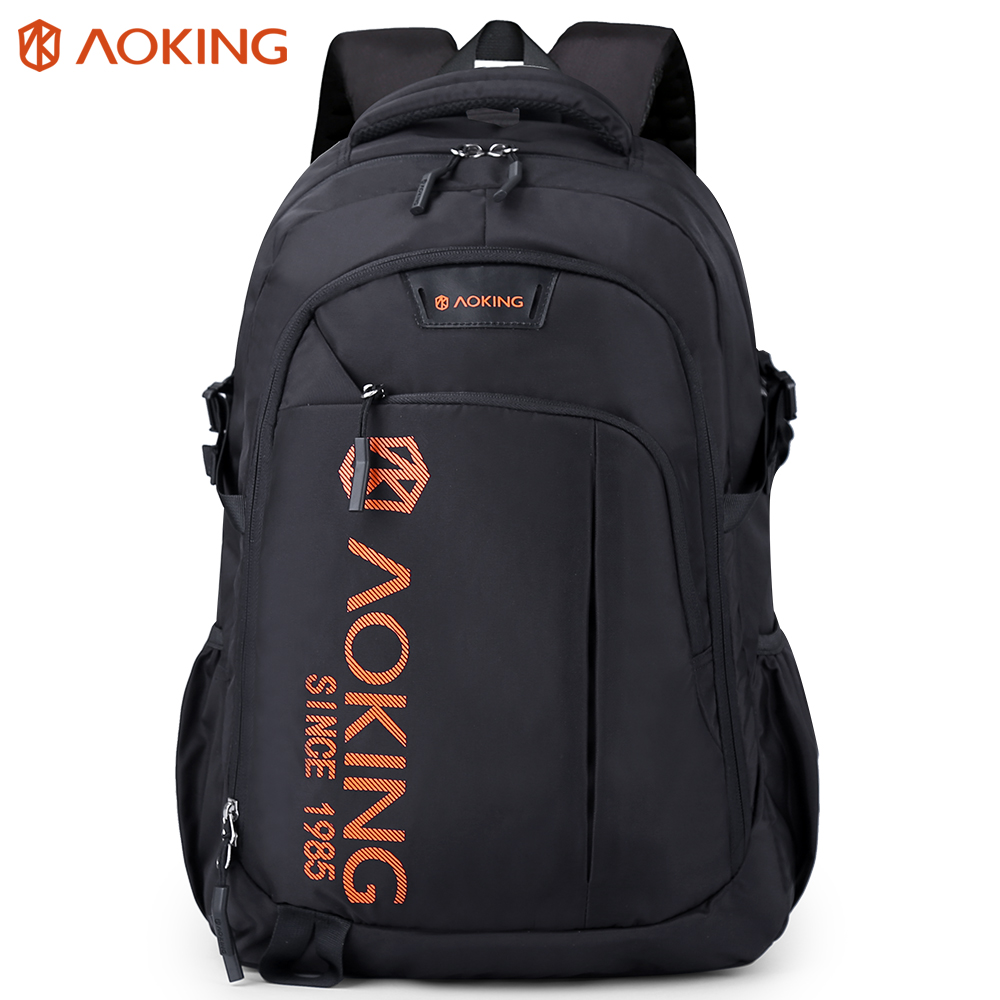 Aoking Bags For Women 2019 Man Leisure Backpack Travel Casual Backpack Spacious School Laptop рюкзак Fashion Polyester Rucksack