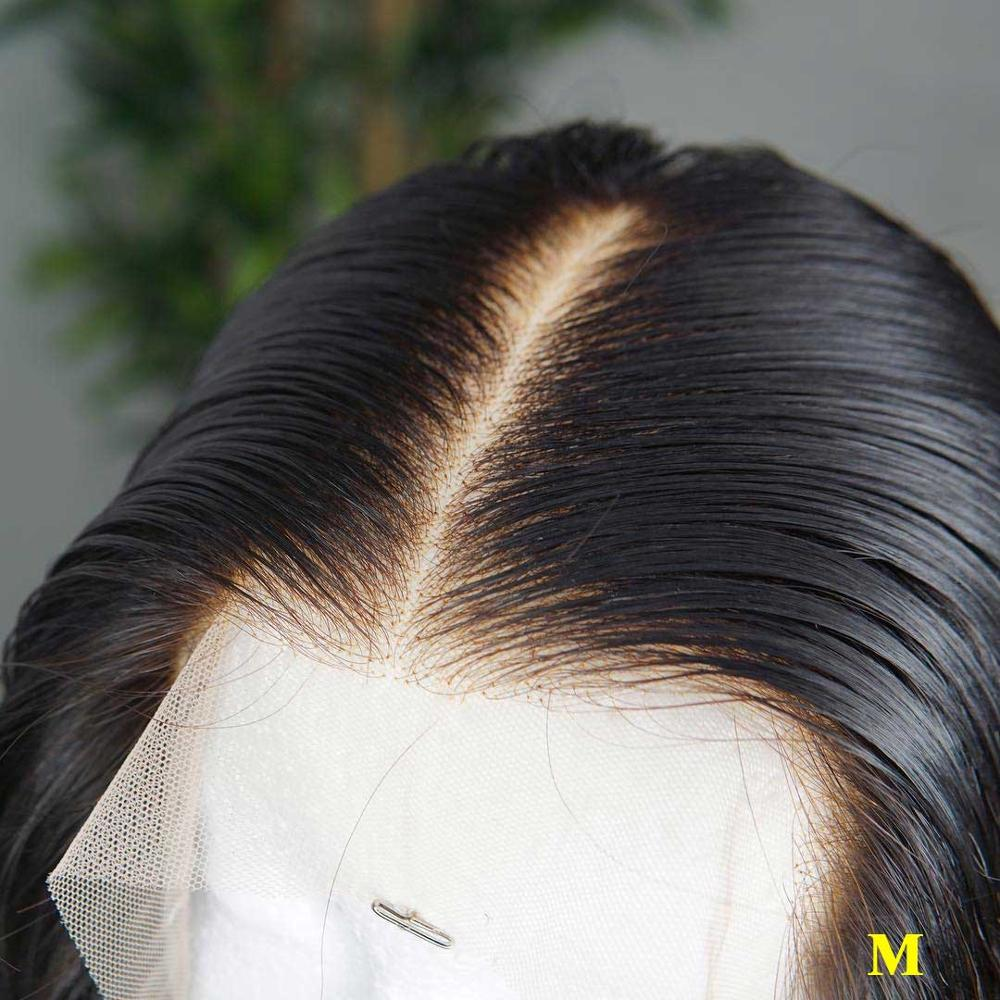 13x6 HD Transparent Bob Brazilian Straight Lace Front Human Hair Wigs Remy Invisible Undetectable Lace Front Wig For Black Women