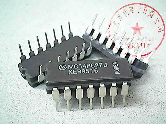 MC54HC27J MOT SN54HC27J Новый