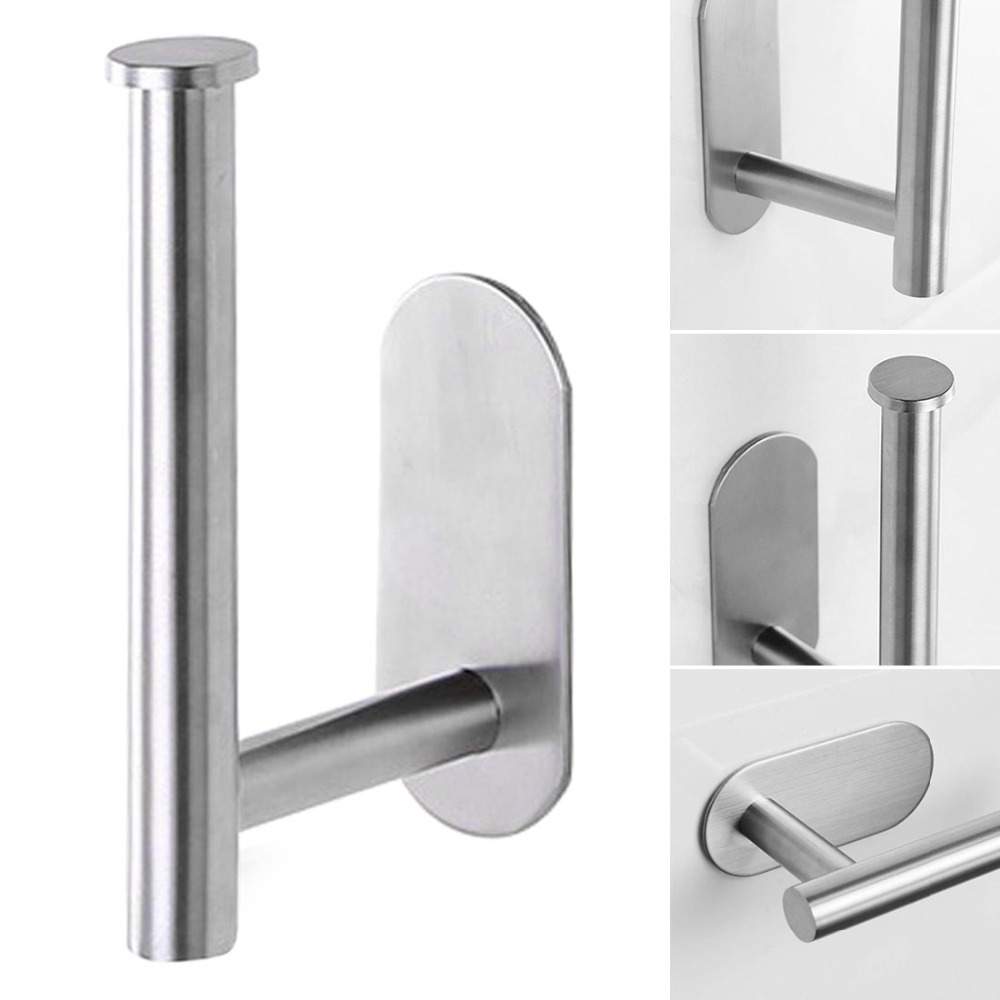 Wall-Mount-Toilet-Paper-Holder-Stainless-Steel-Bathroom-kitchen-Roll-Paper-Rack-Tissue-Towel-Accessories-Rack (4)