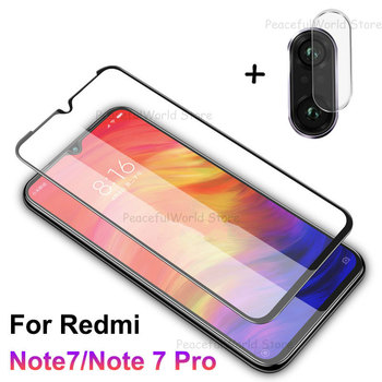 2-In-1 Screen Protector For Redmi Note 8T 8 7 Pro Camera Glass Tempered Protective Film For Xiaomi Redmi 8 8A 7 7A Phone Glass
