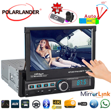 Mp5-Player Video-Mirrorlink Bluetooth Retractable Android Auto-Radio Multimedia 7inch-Support