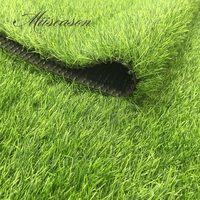 1Mx1M Size customize Artificial Grass Turf synthetic drainage Green grass lawn decor for wedding home landscaping garden H: 4cm