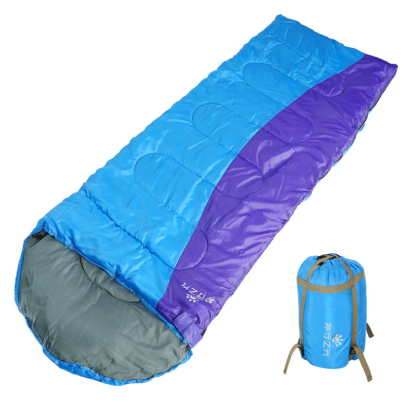 4 Season Sleeping Bag Lightweight Backpacking Thermal Adult Bed Lazy Bag With Compression Sack For Outdoor Travel Hiking Beach