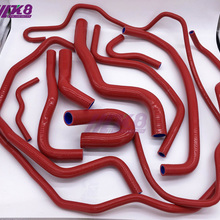 Silicone Radiator Hose Fit For NEW MAZDA 3 2.0(11PCS) red/blue/black
