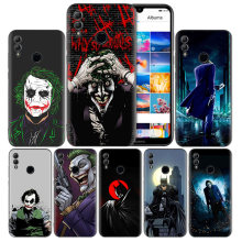 Silicone Case Cover for Huawei Honor 8X 8C 8A 8S 9X 10 20 20i V20 Y5 Y6 Y7 Y9 Play Lite Pro Prime 2018 2019 Batman Dark Knight J(China)