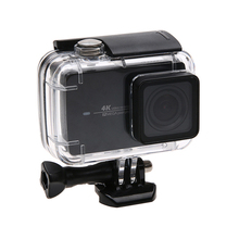 Underwater 45m Waterproof Protective Housing Shell Case with Diving Filter for Xiaoyi Yi 4K Yi 4K+ Lite Action Camera цена 2017