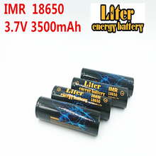 Liter energy battery 3PCS IMR18650 3.7V 4.8A 3500MAH 18650 Li-ion rechargeable battery for tablet pc 7-9 inch best battery brand the new battery 387895 3900mah li ion tablet pc battery for 7 8 9 inch tablet pc icoo 3 7v polymer lithiumio