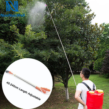 NuoNuoWell Agriculture High Pressure 2.4m Pesticides Spray Extension Bar Fishing Rod Type Spray Rod Fruit Tree Spraying