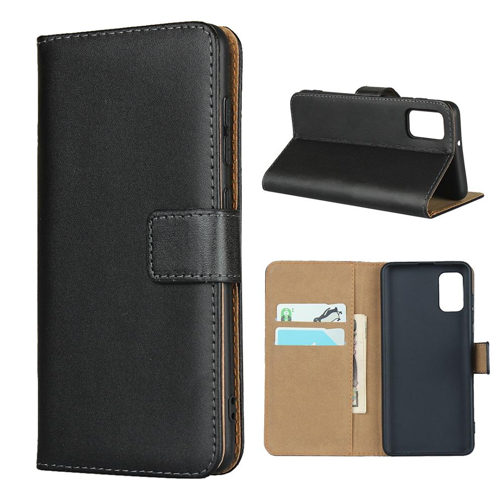Genuine Leather phone <font><b>case</b></font> for <font><b>Samsung</b></font> Galaxy <font><b>J5</b></font> 2016 <font><b>J5</b></font> <font><b>2017</b></font> Galaxy J6 Plus for Galaxy J6 2018 <font><b>Flip</b></font> card cellphone <font><b>case</b></font> cover image