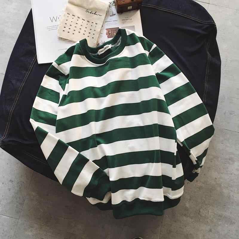 ヒップホップtシャツ男性長袖ストライプtシャツカジュアルメンズtシャツ 2019 ストリートメンズパッチワークコットンtシャツ