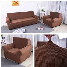 wholesale  1/2/3/4 seater covers Customized Non-Slip stretch sofa cover for home / office
