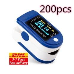 DHL 10 / 20 / 50 / 100/ 200 шт Бесплатная доставка pulsioximetro оригинальный Пульсоксиметр на кончик пальца Lk-87 CE одобрен DHL