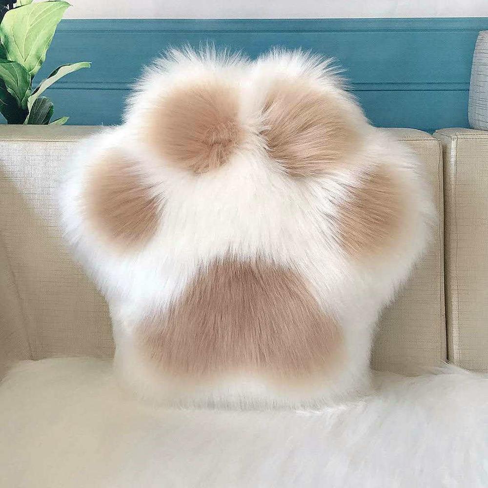 Kawaii Cat Paw Pillow 1