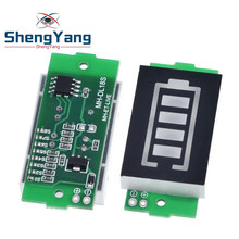 1/2/3/4/6/7/8S Lithium Battery Capacity Indicator Module Blue Green Display Electric Vehicle Battery Power Tester 3.7V Li-ion(China)